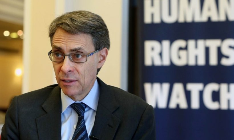 Kenneth Roth, director ejecutivo de Human Rights Watch: «El gobierno de Erdogan teme a su pueblo»