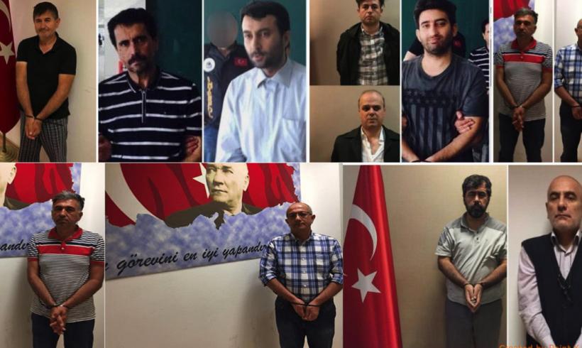 """""""Agentes de MIT localizan a 4.600 presuntos miembros del movimiento Gülen en 110 países"""""""