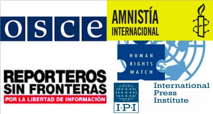 """Organizaciones internacionales denuncian los veredictos de los periodistas de Zaman, llamándolos """"perversión de la justicia"""""""