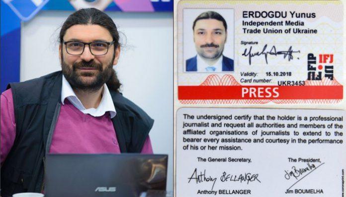 Un periodista turco pide ayuda al aparecer una nueva lista de secuestros en los medios de comunicación ucranianos