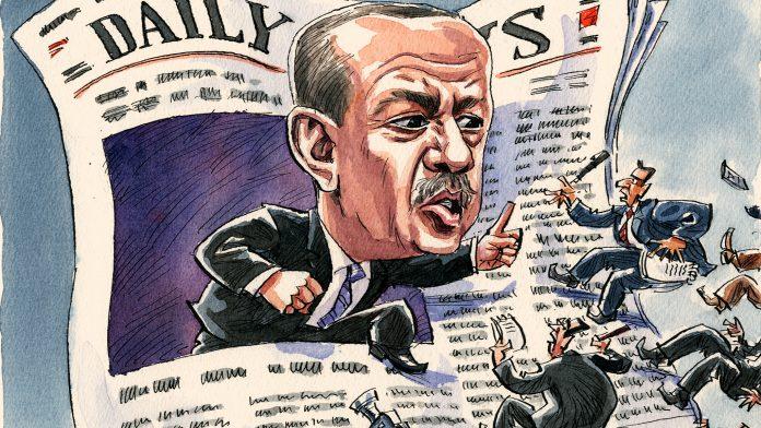 Erdogan afirma que las reformas bajo su gobierno hicieron que los medios de comunicación de Turquía fueran más democráticos y libres