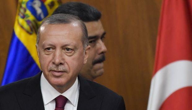 El autócrata Erdogan expresa su apoyo al presidente venezolano Maduro