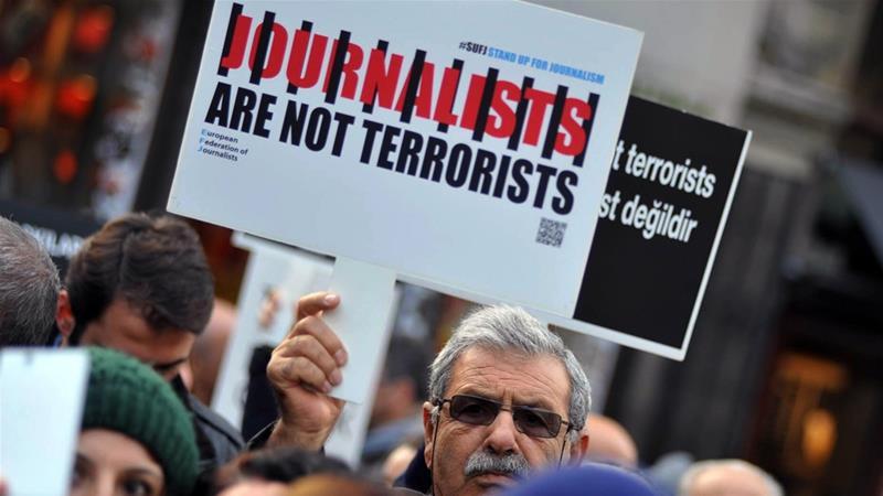 """BIANET: """"No hay libertad a la vista para las noticias, no hay fin a los tribunales y cárceles para los periodistas"""""""