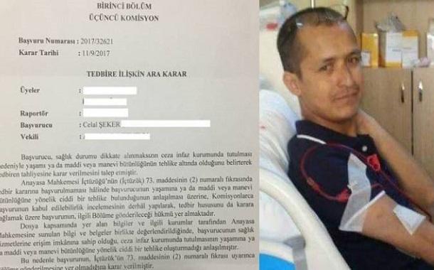 El Tribunal Constitucional de Turquía se pronuncia contra la liberación de un preso enfermo tras su muerte