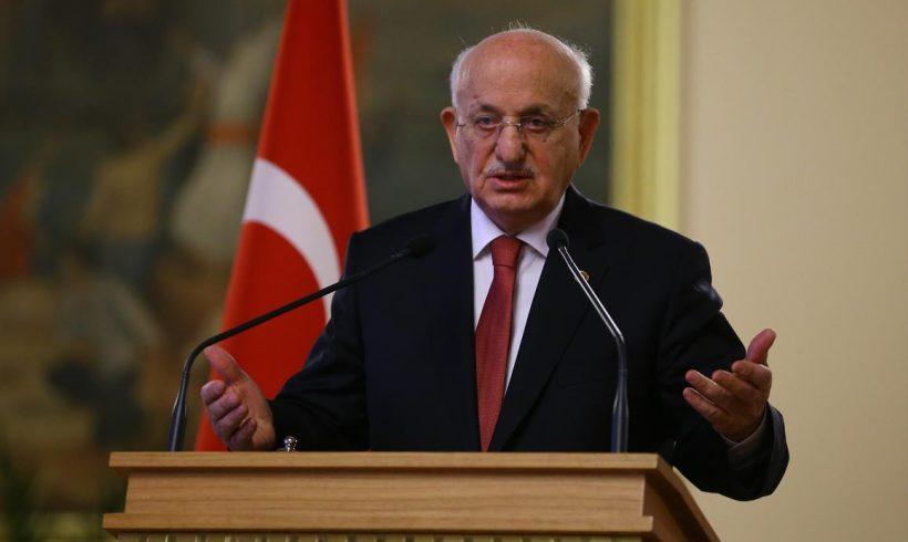 """""""Turquía no puede avanzar sin yihad"""", dice el presidente del Parlamento turco"""