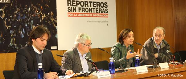 INFORME ANUAL 2017:Reporteros Sin Fronteras constata una erosión generalizada de las condiciones para ejercer el periodismo en el mundo