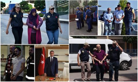 Detenidas 545 personas por sus vínculos con el movimiento Gülen la semana pasada