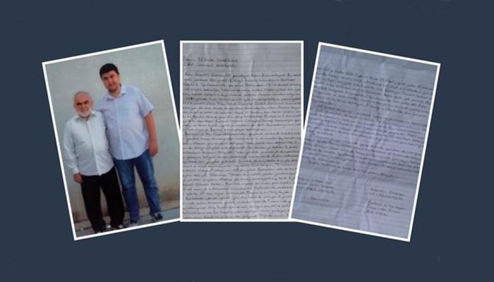 Recluso de 70 años, encarcelado por los vínculos de Gülen pide justicia en una carta desde la cárcel