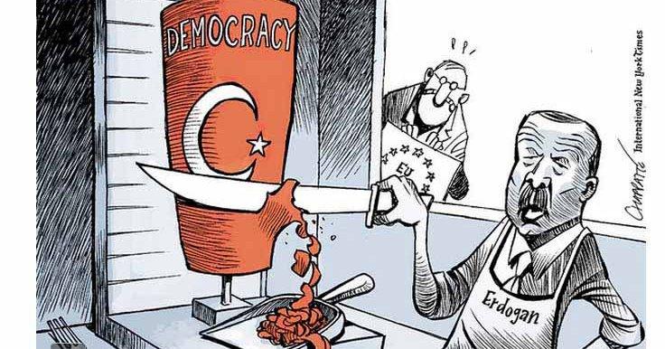«El retroceso democrático de Turquía es el peor de 41 países»