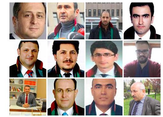 El Tribunal Penal de Ankara condena a 21 abogados a unos 150 años de prisión