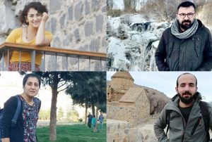 4 periodistas kurdos detenidos por sus noticias sobre aldeanos torturados y arrojados desde un helicóptero